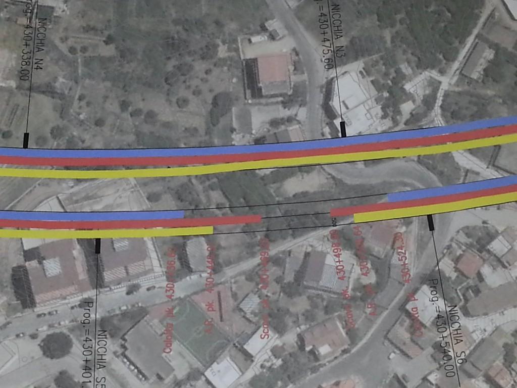 mappa galleria piale