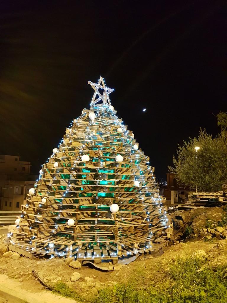 albero di natale pedane piale serale 2