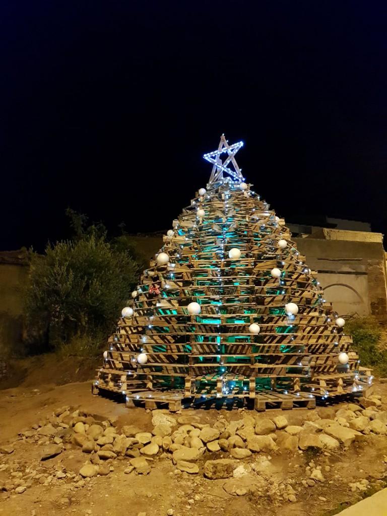 albero di natale pedane piale serale 3